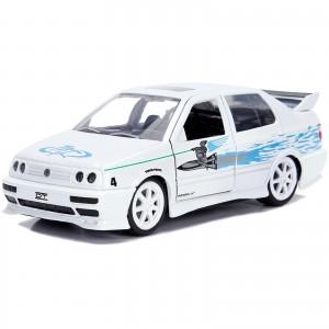 Miniatura - 1:32 - Jesse's Volkswagen Jetta - Velozes e Furiosos - Jada Toys