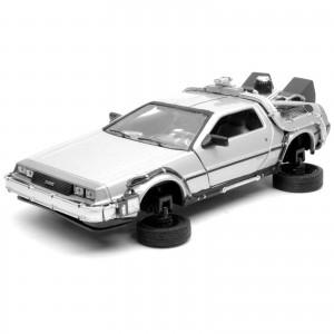 Miniatura - 1:24 - Delorean Time Machine - Back To The Future II - 22441FV - Welly