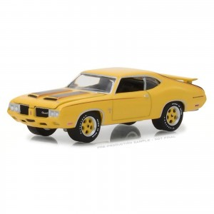 Miniatura - 1:64 - 1970 Oldsmobile Cutglass Rallye 350 - Muscle Series - Greenlight
