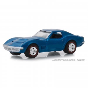 Miniatura - 1:64 - 1968 Chevrolet Corvette L88 - Barret - Jackson - Greenlight