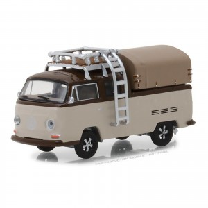 Miniatura - 1:64 - ​​Kombi 1969 Volkswagen Type 2 Cab Pick-Up - Club Vee-Dub 7 - Greenlight