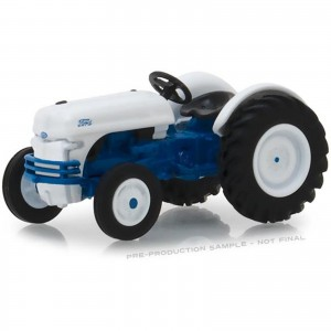 Miniatura - 1:64 - Trator 1949 Ford 8N - Azul - Down on the Farm - Greenlight
