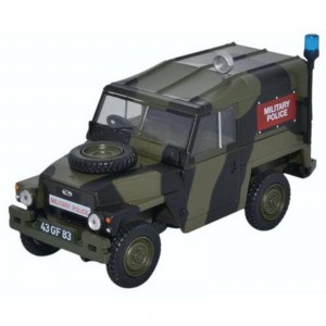 Miniatura - 1:43 - Land Rover 1/2 Ton Lightweight - Military Police - Oxford