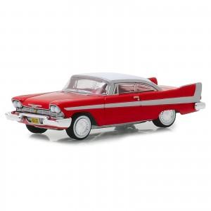 Miniatura - 1:64 - 1958 Plymouth Fury - Christine - Hollywood 23 - Greenlight