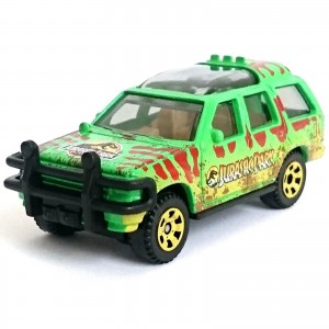 Matchbox - '93 Ford Explorer #4 - Jurassic World - GDP02
