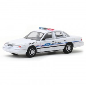 Miniatura - 1:64 - 1993 Ford Crown Victoria Police - USA - Hot Pursuit 33 - Greenlight