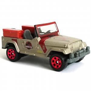 Matchbox - '93 Jeep Wrangler #10 - Jurassic World - GDN84