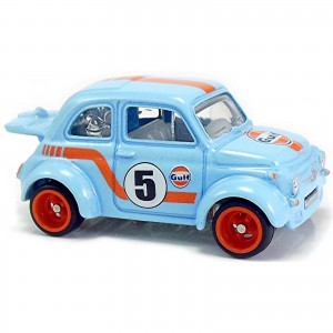 Hot Wheels - '60 Fiat 500D Modificado - Car Culture Gulf - FYN57