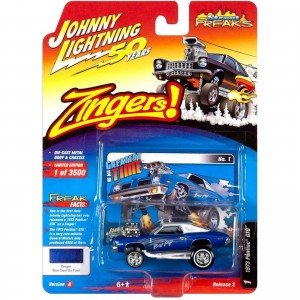 Miniatura - 1:64 - 1973 Pontiac GTO - Zingers - Johnny Lightning