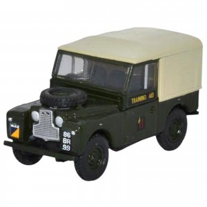 Miniatura - 1:76 - Land Rover Series 1 88 Canvas 6th Training Regiment RCT - Oxford
