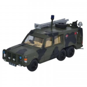 Miniatura - 1:76 - Land Rover TACR2 RAF - Camouflage - Oxford
