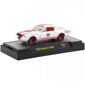 Miniatura - 1:64 - 1965 Shelby GT350R Chase - Coca-Cola RC01 - M2 Machines