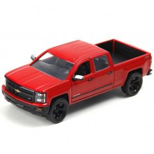 Miniatura em Metal - 1:24 - Chevrolet Silverado 2014