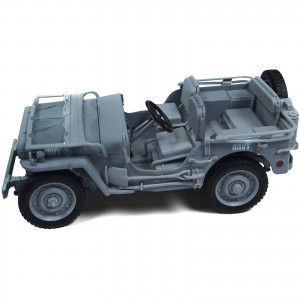 Miniatura - 1:18 - Jeep Willys MB WWII Navy - Auto World