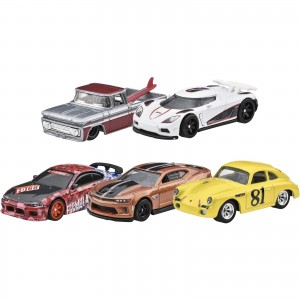 Hot Wheels - Set de 5 Miniaturas - Boulevard Lote B - GJT68