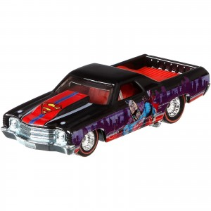 Hot Wheels - '71 Chevy El Camino - Super Homem - DC Comics - Pop Culture - DJG90