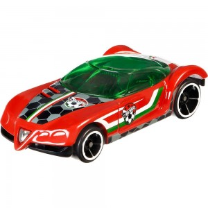 Hot Wheels - Golden Arrow - DJL40 - Série UEFA