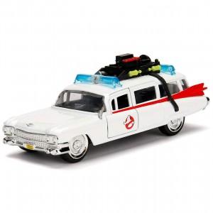 Miniatura - 1:32 - Caça Fantasmas Ghostbusters ECTO-1 - Hollywood Rides - Jada Toys