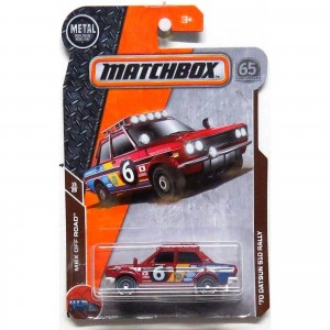 Matchbox - '70 Datsun 510 Rally - FHH50