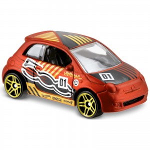 Hot Wheels - Fiat 500 - FJX51