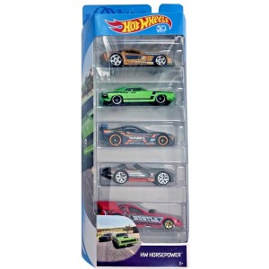 Pack de 5 Hot Wheels - HW Horse Power - FKT57