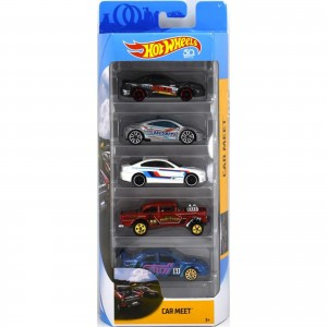 Pack de 5 Hot Wheels - Car Meet - FKT59
