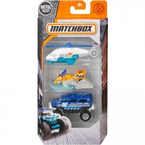 Pack de 3 Matchbox - Ice Voyagers - FMV42