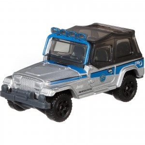 Matchbox - '93 Jeep Wrangler #9 - Jurassic World - FMX10
