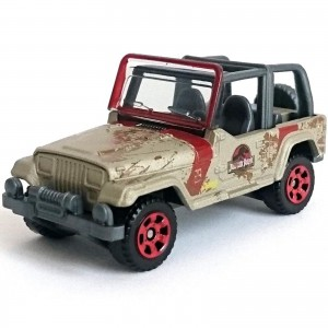Matchbox - '93 Jeep Wrangler #29 - Jurassic World - FMX24