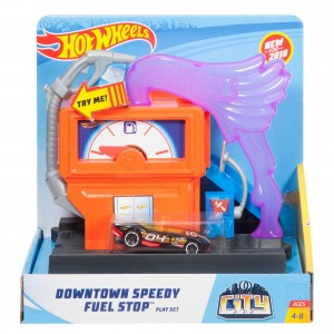 Pista Hot Wheels - Posto de Gasolina - FMY97