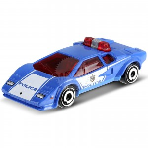 Hot Wheels - Lamborghini Countach Police Car - FYG84