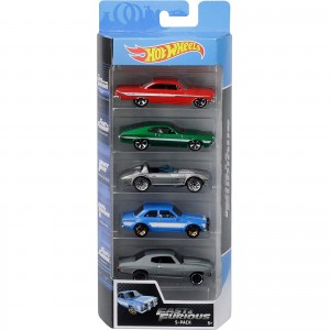 Pack de 5 Hot Wheels - Fast And Furious - Velozes e Furiosos - FYL16