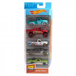 Pack de 5 Hot Wheels - HW Hot Trucks 2019 - FYL18