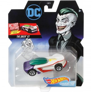 Hot Wheels - The Joker GT - DC Comics - Character Cars - FYV38
