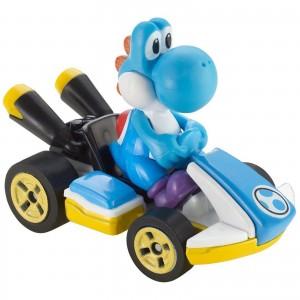 Hot Wheels - Light-Blue Yoshi Standart Kart - Mario Kart - GBG35
