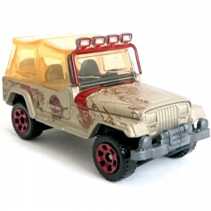 Matchbox - '93 Jeep Wrangler #12 - Jurassic World - GDN87