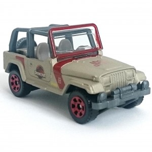 Matchbox - '93 Jeep Wrangler #18 - Jurassic World - GDN98