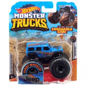 Hot Wheels - 1:64 - Jeep - Monster Trucks - GHF27