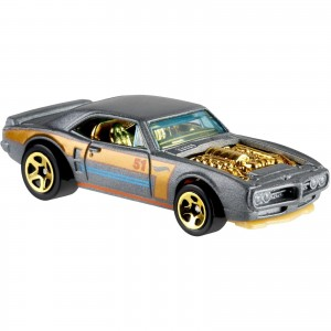 Hot Wheels - Custom '67 Pontiac Firebird - Aniversário 51 Anos Satin & Chrome - GHN96
