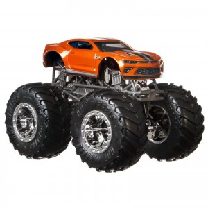 Hot Wheels - 1:64 - Chevrolet Camaro - Monster Trucks - GJD78