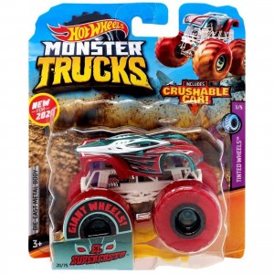 Hot Wheels - 1:64 - El Superfasto - Monster Trucks - GJD79