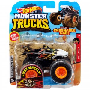 Hot Wheels - 1:64 - Shark Wreak - Monster Trucks - GJF08