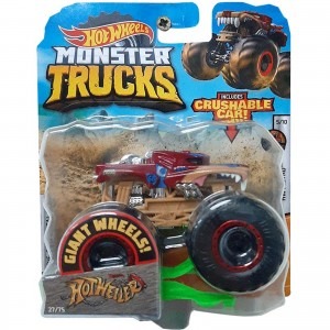 Hot Wheels - 1:64 - Hotweiler - Monster Trucks - GJF29