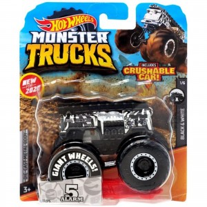 Hot Wheels - 1:64 - 5 Alarm - Monster Trucks - GJF30