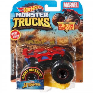 Hot Wheels - 1:64 - Spider-Man - Monster Trucks - GJF44