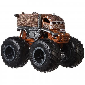 Hot Wheels - 1:64 - Chewbacca Star Wars - Monster Trucks - GJF46