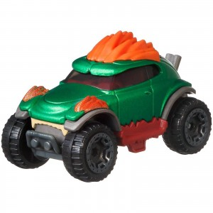 Hot Wheels - Blanka - Street Fighter - Character Cars - GJJ31