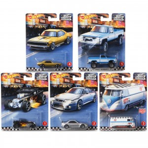 Hot Wheels - Set de 5 Miniaturas - Boulevard - GJT68