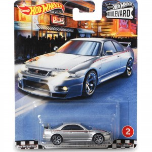 Hot Wheels - Nissan Skyline GT-R (BCNR33) - Boulevard - GJT73
