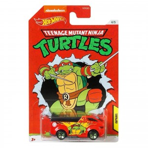 Hot Wheels - The Vanster - Raphael - Tartarugas Ninja - GJV09